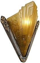 Recreated Marseilles French Art Deco Slip Shade Sconce (166-ES2-DK)