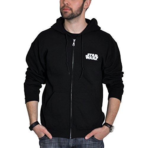ABYstyle Abysse Star Wars Dark Side Man Sweatshirt Schwarz Large