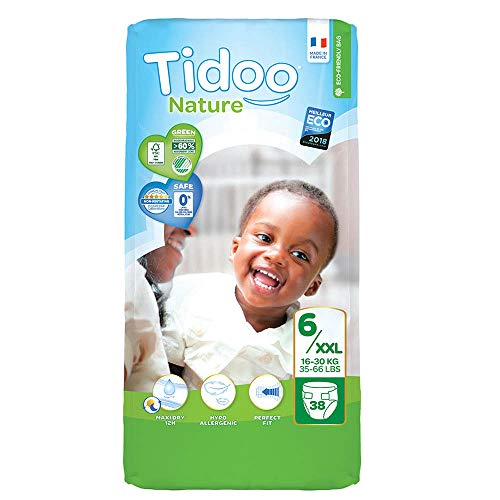 Tidoo 503914 Couches Taille 6 XL 16 30 kg Unisexe