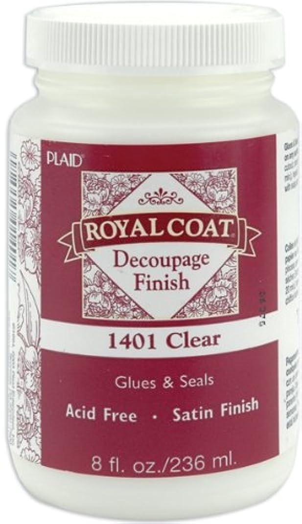 Plaid:Craft Royal Coat Satin Decoupage Finish-8oz Clear