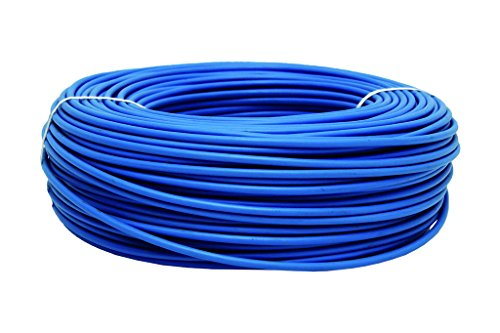 Cofan 51002554A Rollo de Cable, Azul, 1 x 1.5mm, 100 m