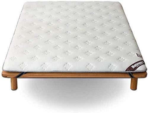 HKX Alfombrilla de Piso Suave y Gruesa, Grande Varios tamaños Portátil Tamaño único Tamaño Doble Varios tamaños dormQueen-King-White 90x190cm (35x75inch)