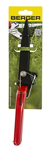 Berger grass shear 2510 with anti-stick coated blade hand grass shear with rigid blade