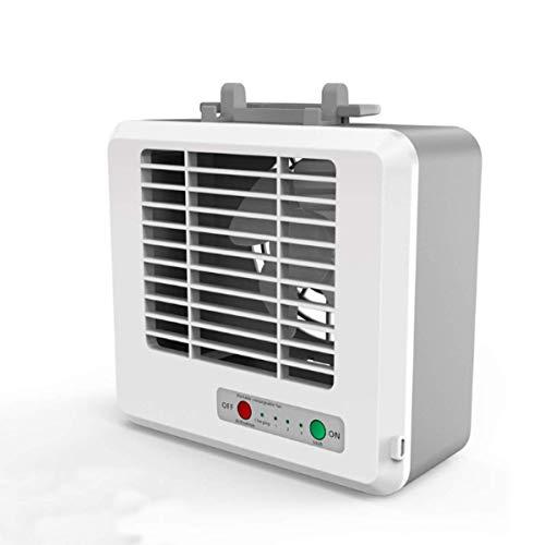 IGOSAIT Silencioso 3 Velocidad Mini acondicionador de Aire portátil USB Mini refrigerador de Aire del humidificador Oficina Escritorio Ventilador