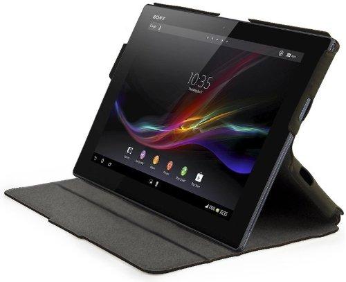 MFX Custodia a Libro per Xperia Tablet Z, Nero