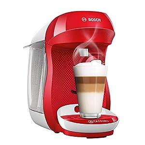Bosch TAS1006GB Tassimo Happy Coffee Machine (1400 Watt) red/white