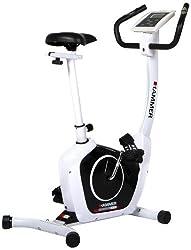 HAMMER Exercise Bike Cardio T1, White / black, 4851