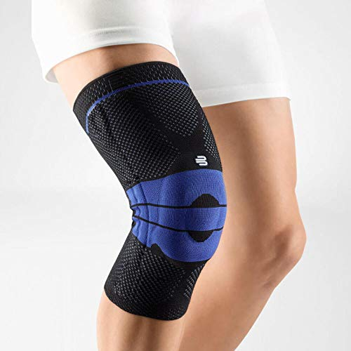 Bauerfeind - GenuTrain - Knee Support Brace - Targeted Support for Pain Relief and Stabilization of The Knee - Size 2 - Color Black