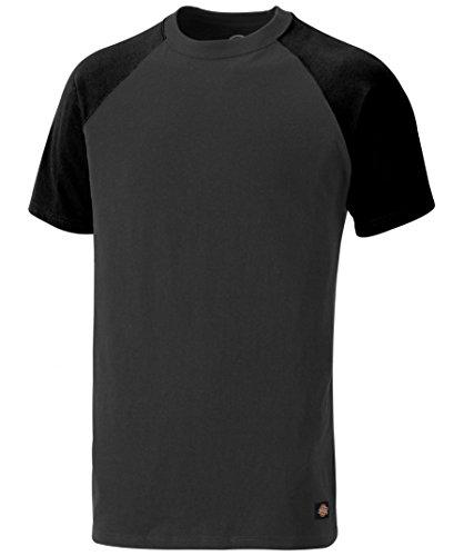 Temp IQ Two-Tone T-Shirt, UV Schutz Zertifiziert, optimaler Feuchtigkeitstransport (Grau/Schwarz,S)