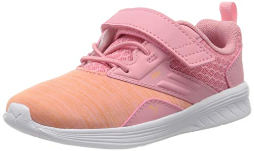 PUMA Unisex Baby Comet V Inf Sneaker, Pink (Peony-Cantaloupe), 22 EU