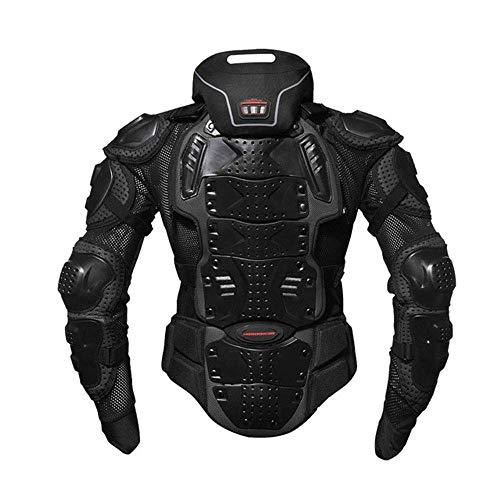 バイク ネックプロテクター ネックブレイスストリート ブラック フリー オフロードバイクジャケット 胸部プロテクター 上半身プロテクター