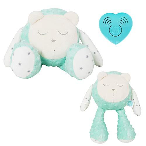 Myhummy (Szumisie) Snoozy bruit Blanc jouet avec détecteur de Cry et non Stop System (Menthe)
