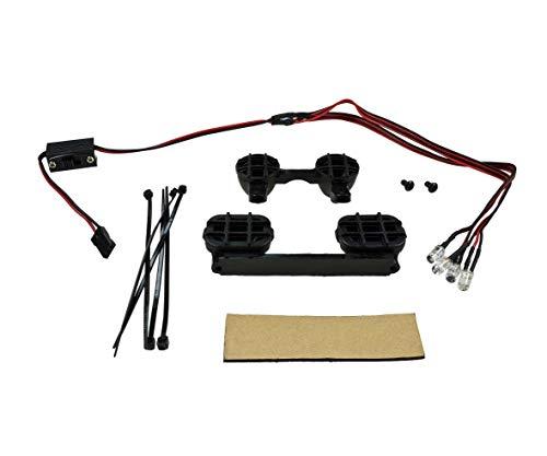 Carson 500906235 Kit d'éclairage LED pour Tamiya DT03/TT02B
