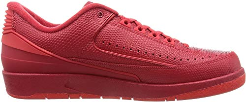 Nike Herren Air Jordan 2 Retro Low Basketballschuhe, rot Gym rot Unvrsty rot Hypr TRQ, 40 EU