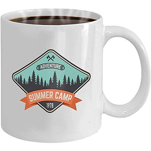 Taza café parche campamento verano conceplogo imprimir