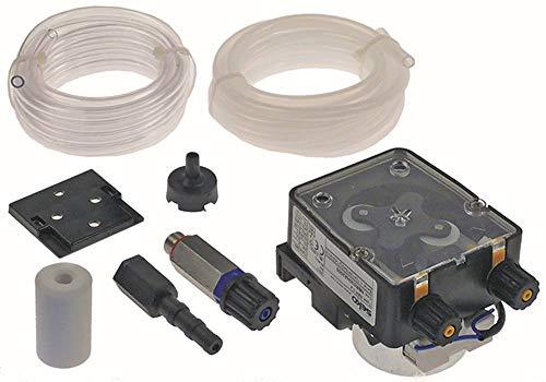 SEKO NBR 0.4 Dosiergerät für Spülmaschine für Klarspüler 0,4l/h mit Ansaug- und Förderschlauch Schlauchanschluss 4x6mm D