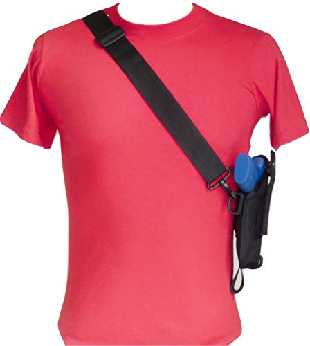 Federal Bandolier Shoulder Holster for Shield EZ 2.0 S&W M&P, 9mm & 380 and M&P 2.0 Compact 22 Pistols Both with 3.675' - 3.8' Barrels