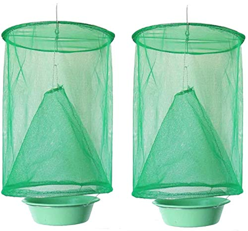 Deloky 2 Packs Most Effective Ranch Cage with Pots-New  Ranch Tools for Indoor or Outdoor family farms, park , restaurants