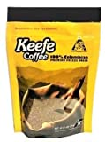 Keefe Coffee 100% Colombian Premium Freeze Dried Coffee 3oz SEALED BAG