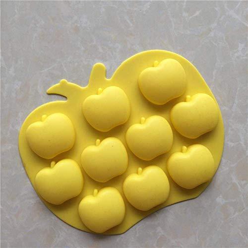 Baking Frucht Serie Apfelform Eiswürfel Silikonform Süßigkeiten Schokoladenformen Kerzen Salz Schnitzform Seife Diy Backen Kuchen Werkzeuge In Kuchenformen,Ein