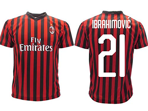 Camiseta Ibrahimovic Milan oficial 2019 2020 AC adulto niño Zlatan Ibra Home 21