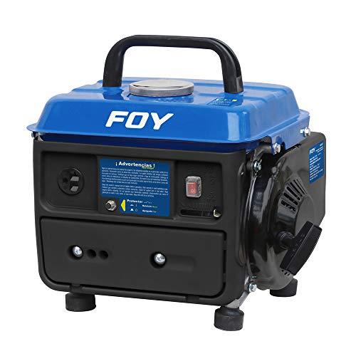 Surtek GG307 Foy Generador a Gasolina Foy de 120 V, con Cilindrada de 63 CC, Potencia 600 W, Frecuencia 60 Hz, Capacidad de Tanque de Gasolina 4 l