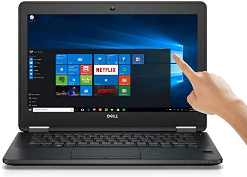 Dell Latitude E7270 - 12.5' - Touch Screen Full HD Core i7 6600U - 8 GB RAM - 256 GB SSD Windows 10 Professional