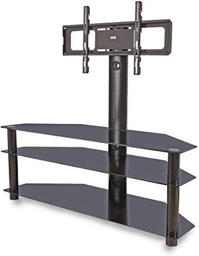 Sunlow Leadzm TSG002 - Soporte para TV de esquina con soporte giratorio de 3 niveles (32-65 pulgadas)