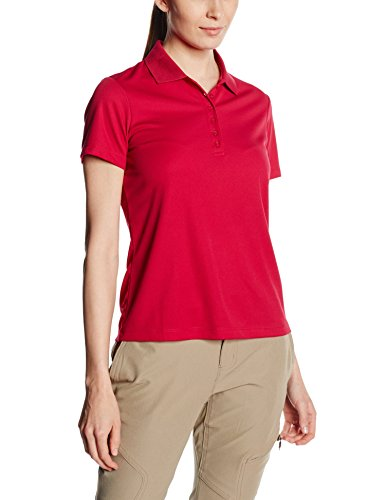CMP Polo pour Femme F. Lli Campagnolo, Poloshirt, Rose - Scarlet/Fuchsia