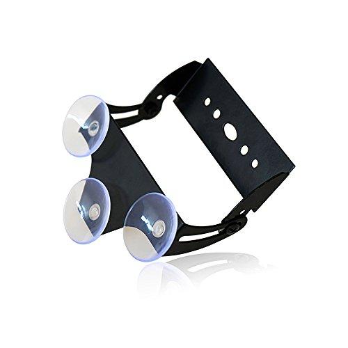 Xprite Adjustable Suction Cups Holder Bracket for 18 27 31.5 35.5 Inch LED Emergency Traffic Advisor Strobe Light Bar - 1 Pack