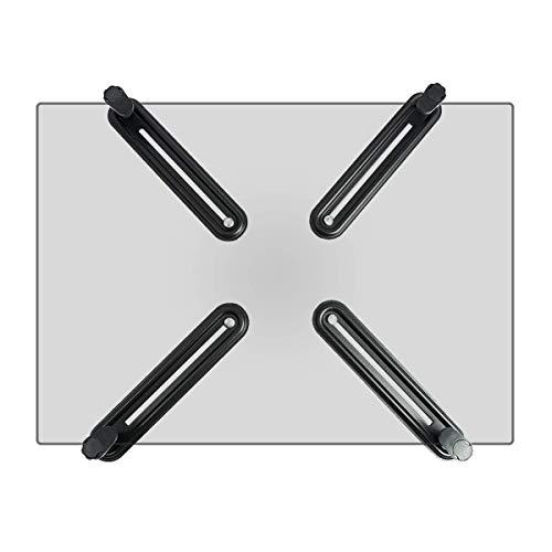 Suptek モニターアーム 無VESA穴調節器 アダプタ 13-27インチ対応 VESA規格75×75-100×100mm WK002