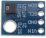 Uspick Módulo de Bricolaje Módulo de Placa de conexión de Sensor de Temperatura y Humedad Digital para Control de humidor de Estaciones meteorológicas 3,3 V