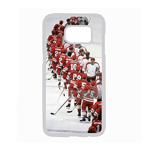 con Hockey 6 Compatible Samsung Galaxy S7 Calidad para Chico Caja Rígida del Teléfono De Plástico Choose Design 70-5