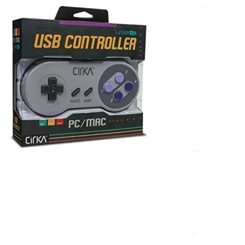 CirKa S91 SNES-Style Retro Classic USB Controller for PC/Mac by Hyperkin