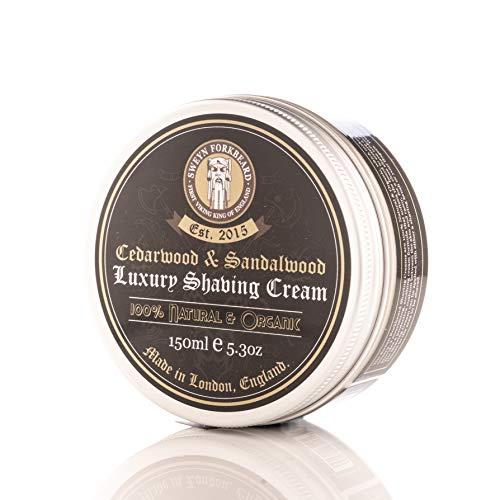 Crema de Afeitar de Cedro y Sandalo de Sweyn Forkbeard London 150g