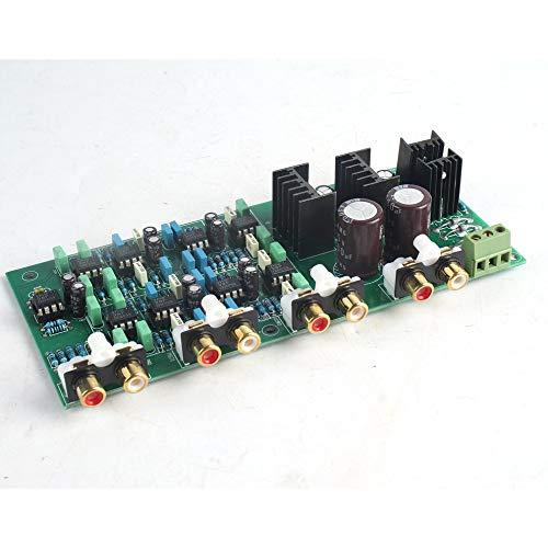 A4 300W + 300W Vollsymmetrische Differenzverstärker Finished Board blau
