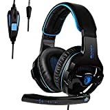 SADES Gaming Headset with Noise Cancelling mic