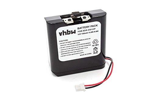 vhbw Batería Compatible con Sony XDR-DS12iP, RDP-XF100iP, RDP-V20IP estación Docking, Altavoz, reemplaza...