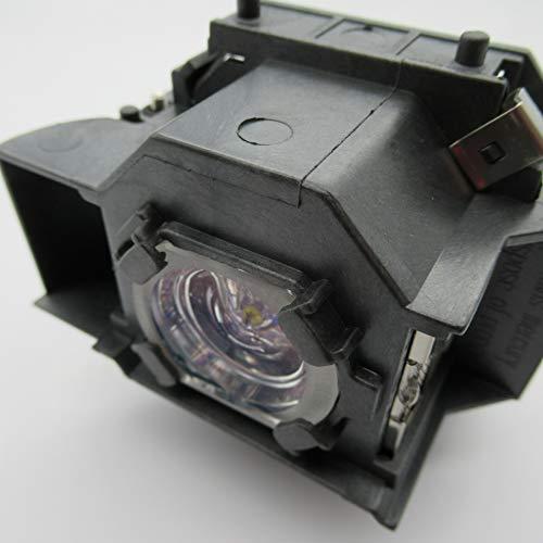 Supermait EP33 Lámpara de Repuesto para proyector con Carcasa, Compatible con Elplp33, Adecuada para EMP-TW20 / EMP-TWD1 / EMP-S3 / EMP-TWD3 / EMP-TW20H / EMP-S3L / PowerLite Home 20