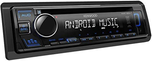 Kenwood Kdc 130ub Cd Autoradio Mit Rds Hochleistungstuner Usb Aux Eingang Android Control Bass Boost 4x50 Watt Blau Schwarz Elektronik