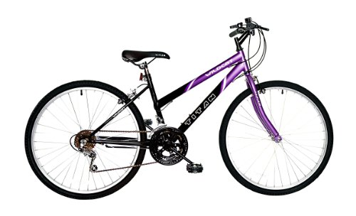 Titan Wildcat Ladies Mountain Bike (Purple/Black, 26-inch)