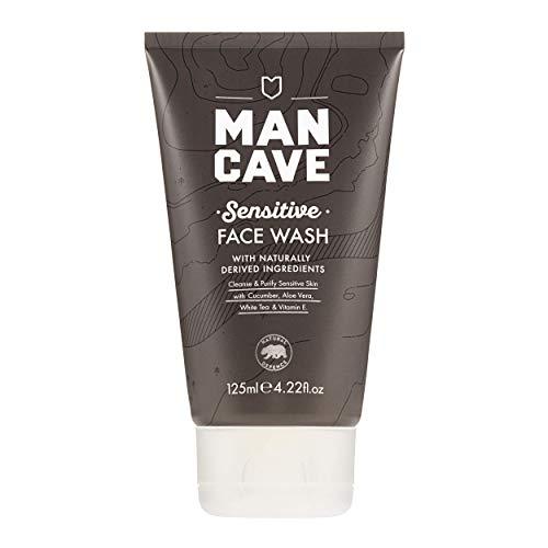 ManCave Sensitive Face Wash 125ml - Cleanse & Purify Sensitive Skin - Suitable for Sensitive Skin