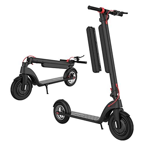 Gmjay Scooter Eléctrico Scooter Eléctrico Adulto Plegable para Desplazamientos y Viajes,