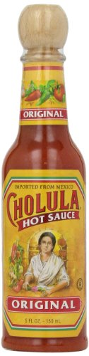 Cholula Original Hot Sauce with Wooden Topper, 5oz. by Cholula Hot Sauce