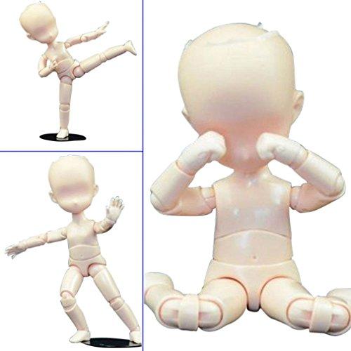 Starall Action Figuren Modell, Menschliche Schaufensterpuppe 2.0 Körper Kun Puppe Body-Chan Mann / Frau Action-Figur DX-Set mit Zubehör-Kit, ideal zum Zeichnen, Skizzieren, Malerei