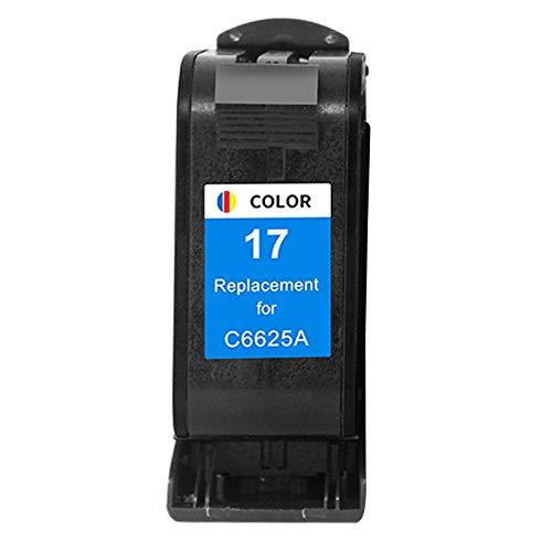 Reemplazo de cartuchos de tinta remanufacturados para HP15 HP17, para impresora HP810C 840C 845C 920C 3820 5110 1 color
