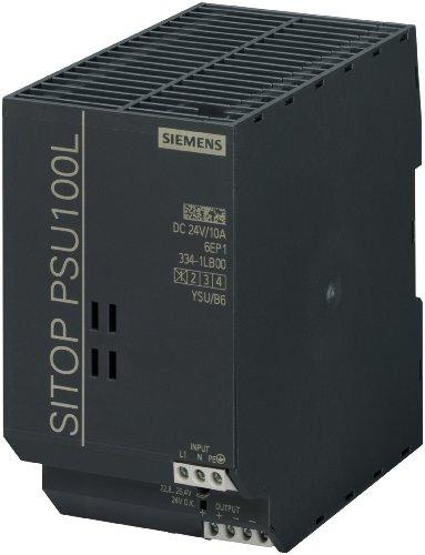 Siemens SITOP Lite 24 Volt Gleichstrom, 10 Amp einphasiges Netzteil