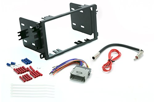 SCOSCHE ICGM8BN Aftermarket Car Stereo Complete Basic Installation Double DIN Dash Kit for 1992-12 Chevy and GM Vehicles