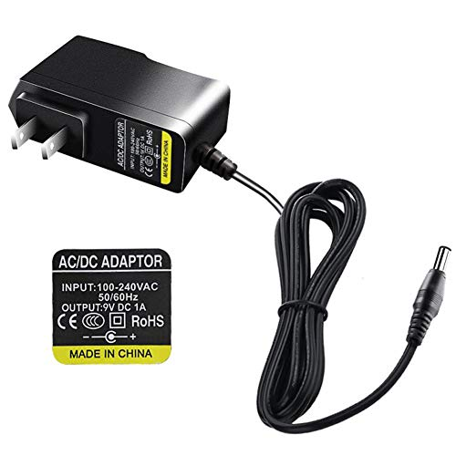 DC 9V 1A AC to DC Switching Power Supply Adapter Input 100-240V, Output 9V DC 1A Transformer Charger for TP-Link