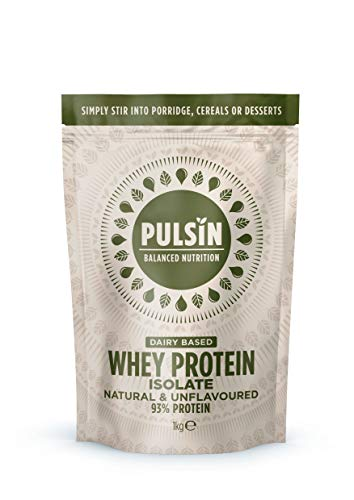Pulsin Whey Protein Powder Unflavoured, 1Kg